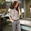 Seoul Secret ชุดเซ็ทเสื้อกางเกงเข็มขัด thumbnail 6