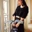 Lady Ribbon Glam Chic Evening-wear Maxi Dress thumbnail 7