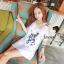 Seoul Secret Navy Doggy Print Tang-Top Dress thumbnail 8