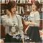 Lady Ribbon Owl Fur Sweater and Flower Embellished Skirt Set thumbnail 5