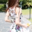 Seoul Secret Lovely Bloom Bloom Print Jumpsuit thumbnail 4