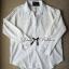 Lady Ribbon เสื้อเชิ้ตสีขาวตัดต่อผ้าฉลุลายและปักลายลูกไม้ thumbnail 8