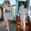 Lady Ribbon Mini Dress Outer Set เซ็ตเสื้อนอก-มินิเดรส 4 สี thumbnail 5