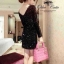 Sparkling Black Dress เดรสสีดำ ปักเลื่อม สุดไฮโซ thumbnail 2