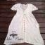 Ivory Knit Mini Dress มินิเดรสไหมพรม สีโทนอ่อน thumbnail 10