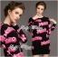 Barbie Girl Sweater Dress เดรสสเวตเตอร์ทอลายสไตล์ Moschino thumbnail 2