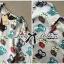 Lady Ribbon Set ชุดเซ็ตเสื้อพิมพ์ลายนกฮูก กางเกงขาสั้นเอวสูง thumbnail 6