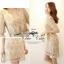 Luxury Gold Embroidery Dress เดรสสุดหรู ผ้าลูกไม้ โทนสีทอง thumbnail 10