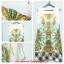 Vintage Dress เดรสแขนกุด พิมพ์ลายวินเทจสไตล์ไฮแบรนด์ thumbnail 5