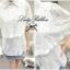 Lady Ribbon เสื้อเชิ้ตลูกไม้ขาว ทรงคลุมไหล่ thumbnail 9