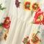 ZARA Maxi Dress ผ้าพิมพ์ลายดอกสีสดใส เว้าหลัง S,M,L thumbnail 10