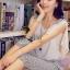 Seoul Secret ชุดเซ็ท เสื้อผ้าชีฟอง กางเกงทรง Halem thumbnail 2