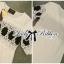 Lady Ribbon มินิเดรสสีขาว ปักลายสไตล์ Vintage-Chic thumbnail 9