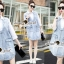 Seoul Secret Korea Denim Dress Shirt Mix thumbnail 9