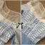 Lady Ribbon Baby Blue Graphic Dress thumbnail 9