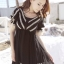 Icevanilla Romantic Black Lace Dress thumbnail 1