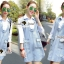 Seoul Secret Korea Denim Dress Shirt Mix thumbnail 10