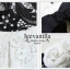 Icevanilla เดรสผ้าลูกไม้เกาหลีทอลาย แถมเข็มขัดโบว์ thumbnail 8