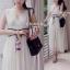 Cliona Cross Body Maxi Dress แม็กซี่เดรสทรงคอวี thumbnail 3