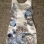 Mariane Gorgeous Ocean Print Bow V Back Dress thumbnail 9