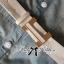 Lady Ribbon Flower Embellished Denim Shirt Dress with Belt thumbnail 10