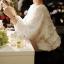 เสื้อสีขาว ผ้าตาข่าย ผูกโบว์ด้านหลัง ยางยืดที่แขนและเอว thumbnail 4