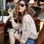 Lady Ribbon Lace Top เสื้อแขนยาวผ้าลูกไม้ซีทรูแบบคลาสสิก thumbnail 2