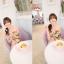 Mayuki Minidress ปาร์ตี้เดรส เกาะอก เอวยางยืด ผ้าชีฟอง ลายดอกสีแซ่บ thumbnail 4