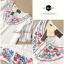 Lady Ribbon เสื้อปักดอกไม้สีสดใส ทรงแขนตุ๊กตาแต่งลูกไม้ thumbnail 9