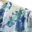 ZARA เสื้อคอจีน ผ้าพิมพ์ลายดอก โทนสีน้ำเงินฟ้า thumbnail 9