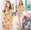 Lady Ribbon Sexy Flowery Printed Rope Jumpsuit thumbnail 5