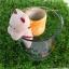 ตุ๊กตา แมว กระถางเซรามิค พร้อมชุดปลูกต้นอ่อน เมล็ดพันธุ์ Wild Strawberry thumbnail 5