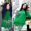Lady Ribbon Green Knit Leaf Print Set เซ็ตเสื้อพร้อมกางเกง thumbnail 2