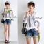Lady Ribbon เสื้อปักครอสติสเกาหลี สม็อคคอเสื้อ ผูกโบว์ thumbnail 10