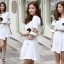 Seoul Secret Nifty Bohe Embroider Ivory Dress thumbnail 5