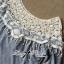Lady Ribbon เสื้อแขนสามส่วน ผ้าลูกไม้ตัดต่อผ้าเจอร์ซีย์คอตตอน thumbnail 10