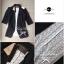 Lady Ribbon Lace Blazer เสื้อสูท ดีเทลลูกไม้ด้านหลัง thumbnail 14