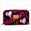 &#x2764️ VS Signature Print Hot Pink with Black Cosmetic Pouch thumbnail 1