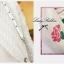 Lady Ribbon เดรสแขนยาวปักลายดอกกุหลาบสีชมพู thumbnail 7