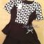 Lady Ribbon Black&White Set ชุดเซ็ทเสื้อกางเกง พิมพ์ลายกราฟฟิค thumbnail 11