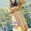 Lady Ribbon Dolly Mini Dress เดรสสีกรมท่า เเขนตุ๊กตา thumbnail 2