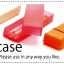 Midori Soft Pen Case กล่องดินสอซิลิโคนใส thumbnail 16