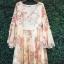 Seoul Secret Chiffon Pink Sakura Dress thumbnail 8