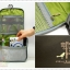 Travel Amenity Organizer Bag กระเป๋าใส่ของใช้พกพาแขวนสะดวก thumbnail 7