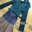 Lady Ribbon Pleated Dress เดรสผ้าจับพลีต thumbnail 7
