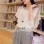 Seoul Secret ชุดเซ็ท เสื้อผ้าชีฟอง กางเกงทรง Halem thumbnail 1