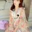 Seoul Secret Chiffon Pink Sakura Dress thumbnail 2