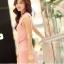 Sweet Pink Maxi แม็กซี่เดรสสีชมพู เปิดผ่าด้านข้าง thumbnail 3