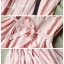 Lady Ribbon เดรสแขนกุด ผ้าชีฟอง ทรงกระโปรงพริ้วสวย สีชมพู ขาว เหลือง thumbnail 12