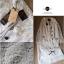 Lady Ribbon Chic Lace Set เซ็ตเสื้อและกระโปรงผ้าลูกไม้สไตล์ผู้ดี thumbnail 4